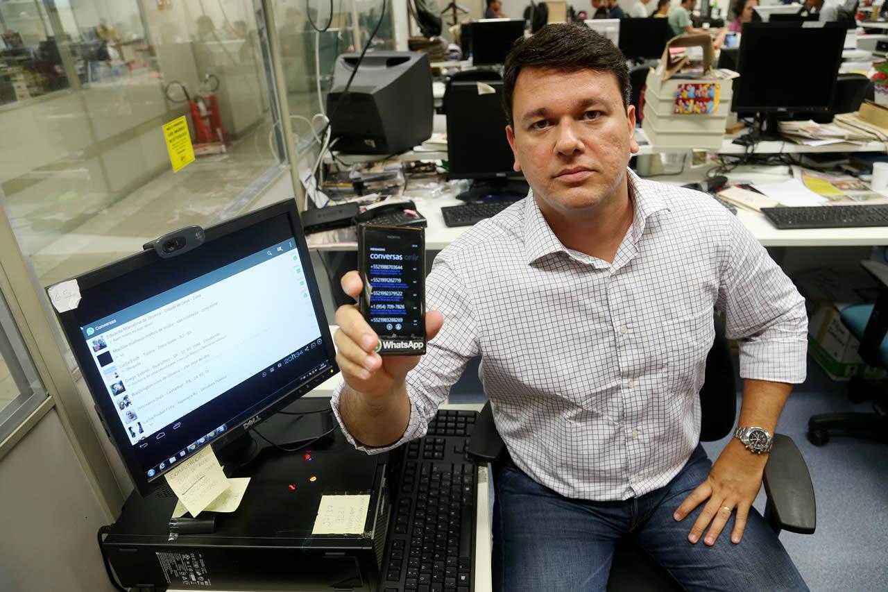 Fabio Gusmão, editor online do jornal Extra, fala sobre o uso estratégico do Whatsapp